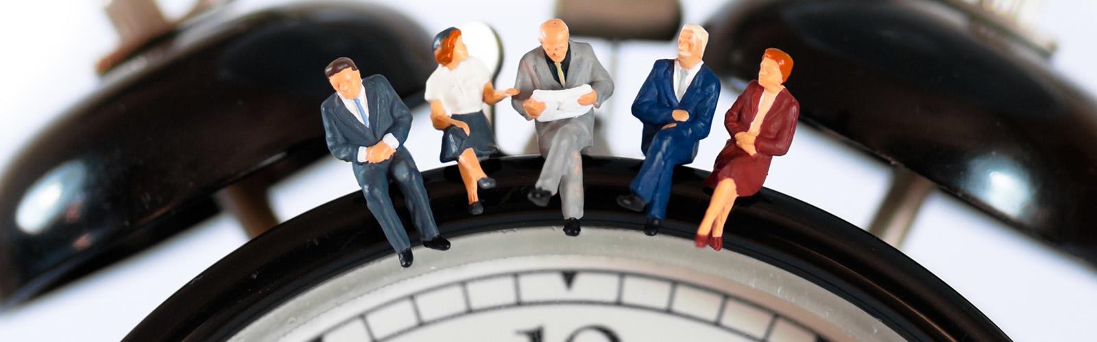 Managing teams in varying time zones